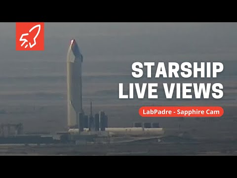 Sapphire Cam - SpaceX Boca Chica Launch Facility