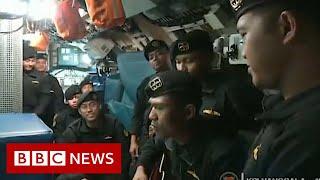 Indonesian navy submarine Video shows crew singing - BBC News
