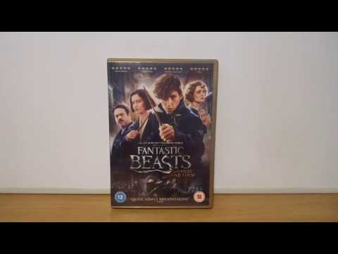 Fantastic Beasts And Where To Find Them (UK) DVD Unboxing (New Version)
