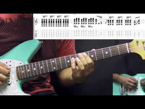 Jimi Hendrix - Burning Of The Midnight Lamp - Rock Guitar Lesson (w/Tabs)