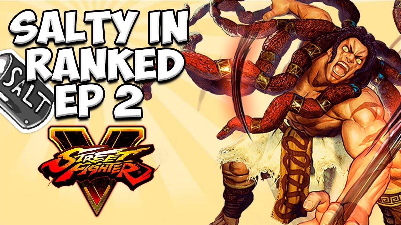 Street Fighter V - Salty in Ranked Episode #2 - Necalli