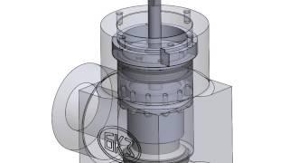 Сборка клапана запорно-регулирующего 18с производства ООО БКЗ(, 2014-09-23T04:49:52.000Z)