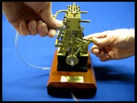 Marine Engine Model, Twin Cylinder