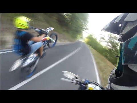 Enduro & WHEELIES: Husaberg390 Akrapovic-Husaberg fe 125-Honda Hm 150