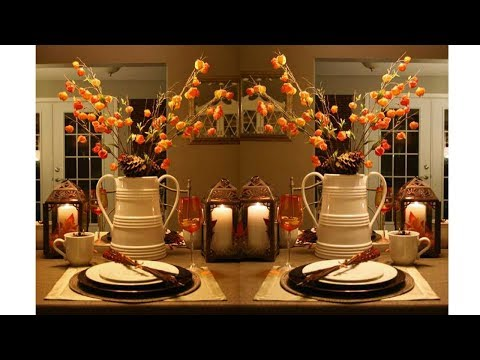 2017 Thanksgiving Table Decorations 2