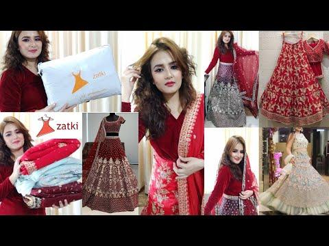 Bridal Lehengas Under Rs.2500 / Zatki.com /  SWATI BHAMBRA