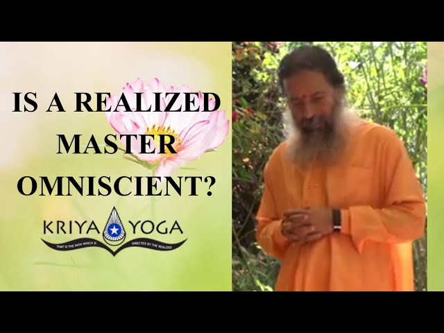 Is a Realized Master Omniscient?