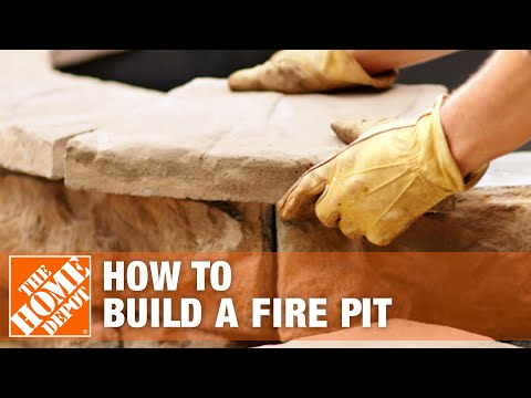 How To Build A Fire Pit Youtube