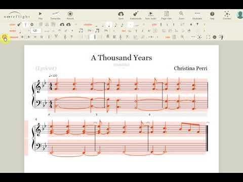 Noteflight - Sibelius and Finale free online alternative. Fit chosen bars in staff.