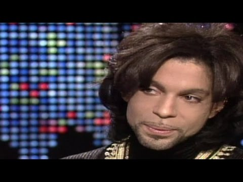 Prince explains his name change (1999 CNN interview)