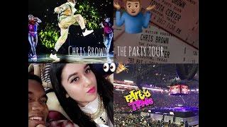 Party Tour VLOG : Chris Brown, Fabolous, O.T Genasis & Kap G at the Houston Toyota Center 2017