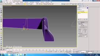 уроки 3Ds Max.Bevel Profile в 3D Max. Шпаргалки часть 22. Проект Ильи Изотова