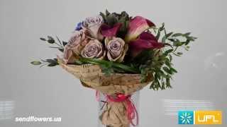 Букет Дизайнерский -  доставка цветов по Украине и миру sendflowers.ua(Букет Дизайнерский - доставка цветов по Украине и миру sendflowers.ua Заказать букет на сайте прямо сейчас - http://www..., 2014-11-05T12:43:53.000Z)