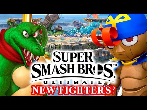 Super Smash Bros. Ultimate - 5 Possible Fighters!