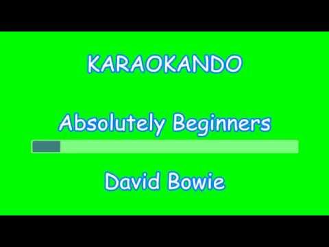 Karaoke Internazionale - Absolutely Beginners - David Bowie ( Lyrics )
