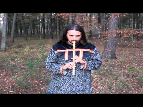 How to play the Traditional 6 hole Native American Flute