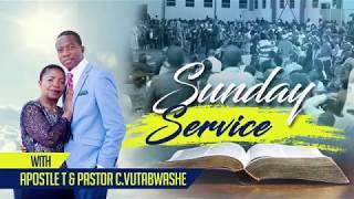 🇿🇼 Apostle Tavonga Vutabwashe - Sunday 2nd service - 15 JULY 2018