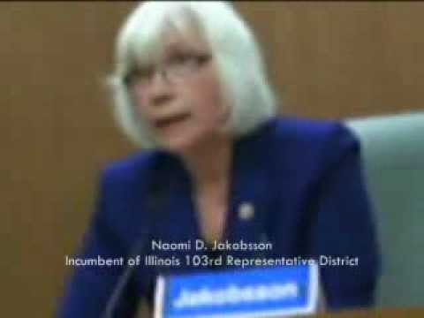 IMPROVED SOUND! Review of Illinois Legislature Debates, 52nd Senate District 2012 Part One (of 2)
