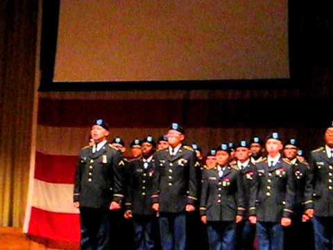 Ft Leonard Wood Echo Company Graduation 12 9 2010 Youtube
