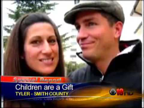 Children Are A Gift  Jim and Kerri Caviezel