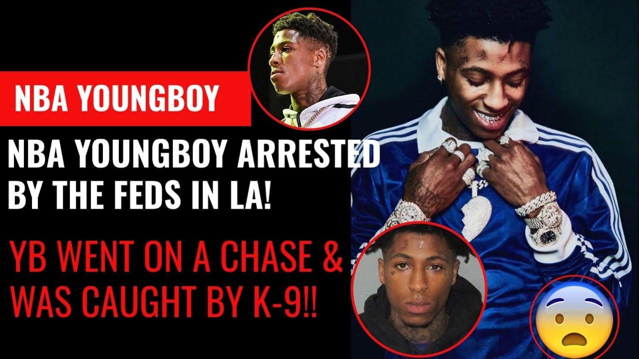 Rapper 'NBA YoungBoy' Arrested In LA, Taken Into FBI Custody
