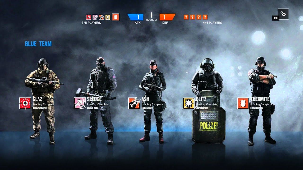 rainbow six siege random party gameplay no commentary. Black Bedroom Furniture Sets. Home Design Ideas