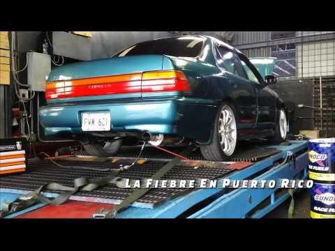 Toyota Corolla all motor con motor de Venza 297hp (La Fiebre En Puerto Rico)