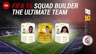 FIFA 15 Ultimate Team Gameplay | Squad-Builder and Match with Pele, Ronaldo and Gullit [PS4/XboxOne]