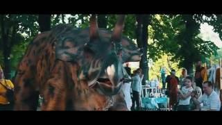 Шоу живых динозавров в Анапе