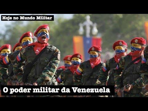 O poder militar da Venezuela