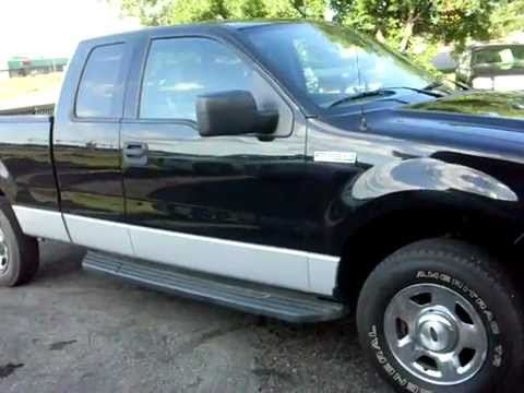 2004 ford f150 xlt super cab 4dr 4x4 5 4 v8 loaded warranty youtube. Black Bedroom Furniture Sets. Home Design Ideas