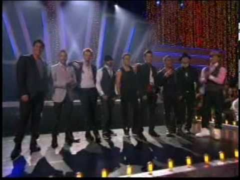 """NKOTBSB -Dancing With The Stars-""""I Want It That Way""""/""""Step By Step"""""""