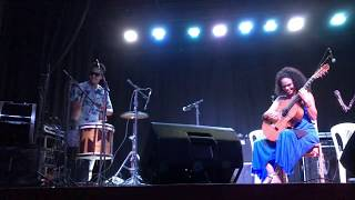 """Cavalo Marinho"" ao vivo, do álbum ""Opará"", Fernanda Primo & Gilberto Bala."