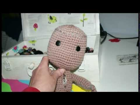 How To Make A Sackboy On Crochet - Pattern-easy!