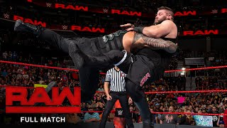 FULL MATCH - Roman Reigns vs. Kevin Owens: Raw, Nov. 28, 2016