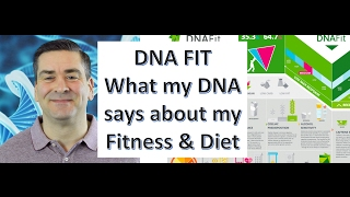 DNA fit test results *What my DNA says about my fitness and diet* I review my DNA * Fatover40