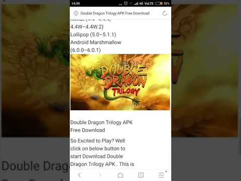 How To Download Double Dragon Trilogy