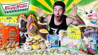 THE ULTIMATE EASTER DESSERT CHALLENGE! (15,000+ CALORIES)