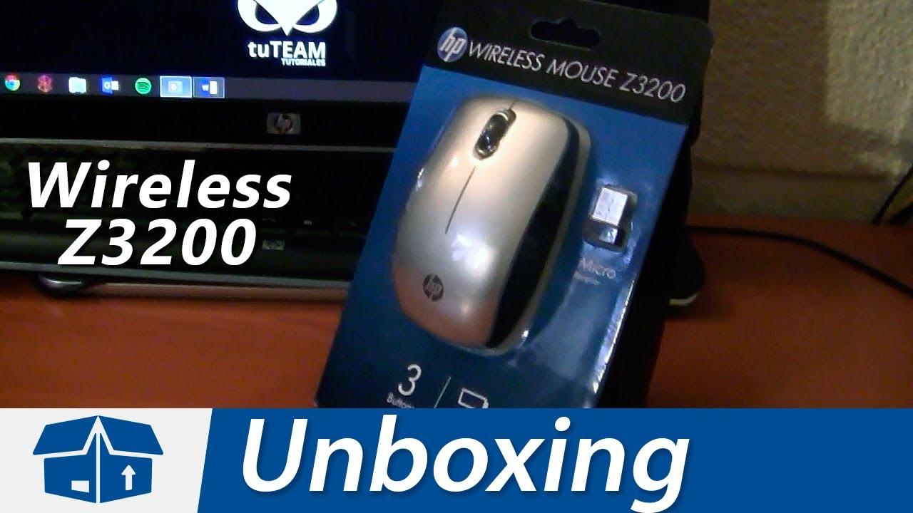 e808614d243 HP Z3200 Wireless Mouse - Unboxing en Español - YouTube
