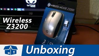 HP Z3200 Wireless Mouse - Unboxing en Español