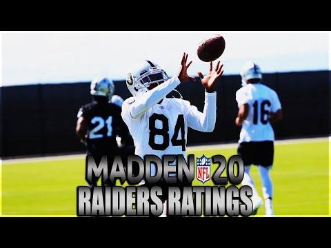 Madden 20 Oakland Raiders Player Ratings | Worldwide American Football