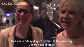 BACKSTAGE TV: Reaktioner fra publikum til Saturday Night Fever The Musical