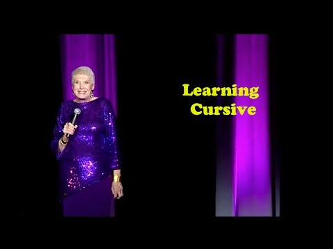 "Jeanne Robertson - ""Learning Cursive ... Or Not"""