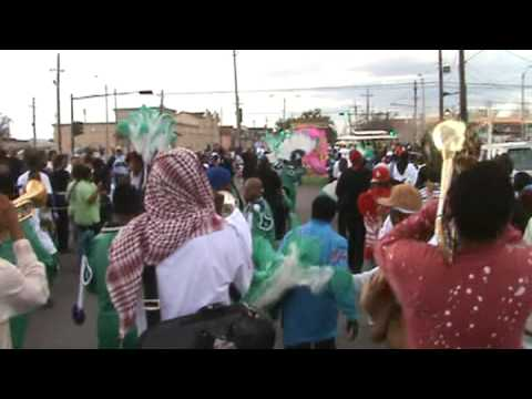 TREME SIDEWALK STEPPERS SECOND LINE 2009 - (Because I Used To Love Her) But It's All Over Now