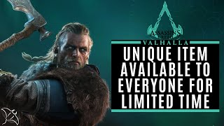 Exclusive Valhalla Moonlight Axe & Watch Dogs Legion Outfit Available Until July 15th | AC Valhalla