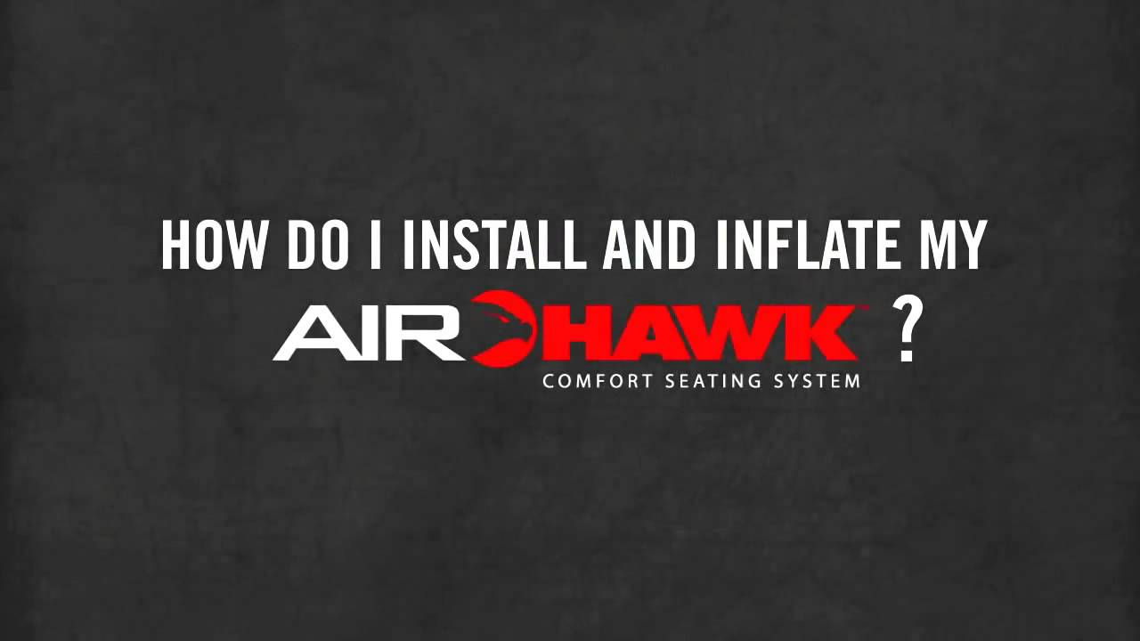 cuscini airhawk information video - youtube