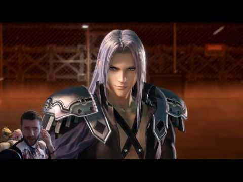 Final Fantasy Dissidia Sephiroth reaction trailer: The one winged angel arrives!