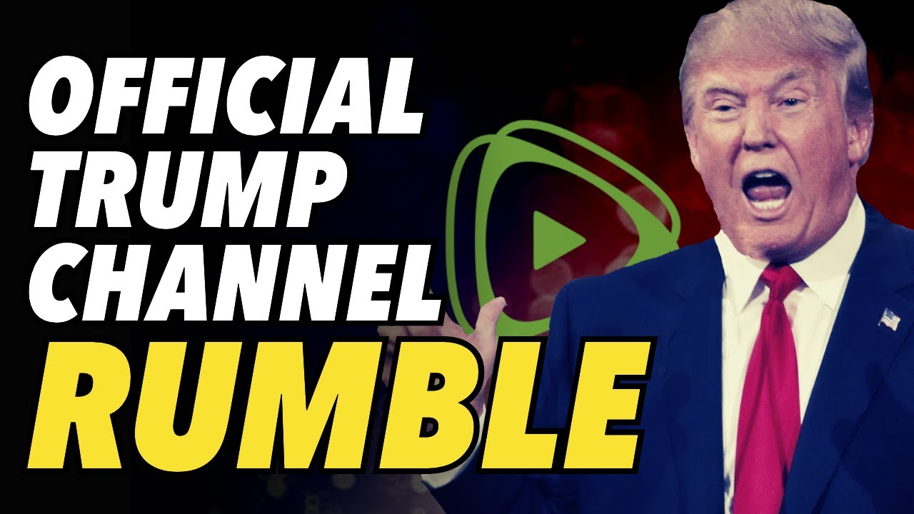 Download Official Trump channel now on Rumble