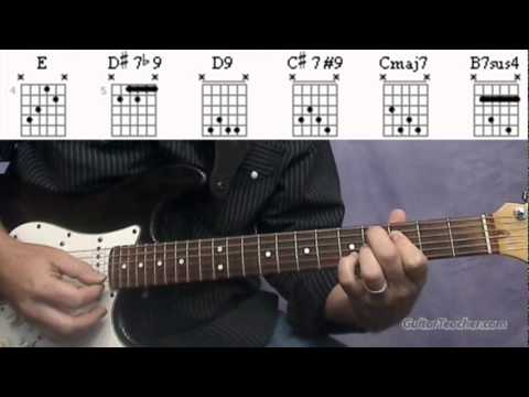 Daily Video Guitar Lesson Melody Note Chord Study 0810 Guitar