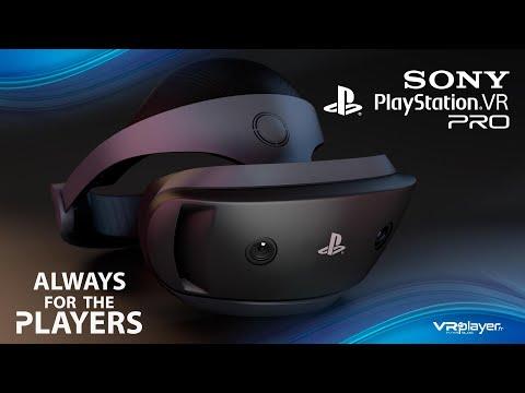 Psvr 2 Playstation Vr 2 Pro Concept Design Trailer Vr4player Youtube